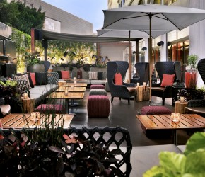 the-patio. Riviera Sofitel LA